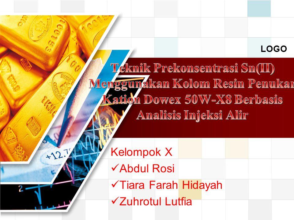 Kelompok X Abdul Rosi Tiara Farah Hidayah Zuhrotul Lutfia