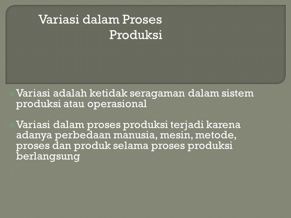 Variasi dalam Proses Produksi
