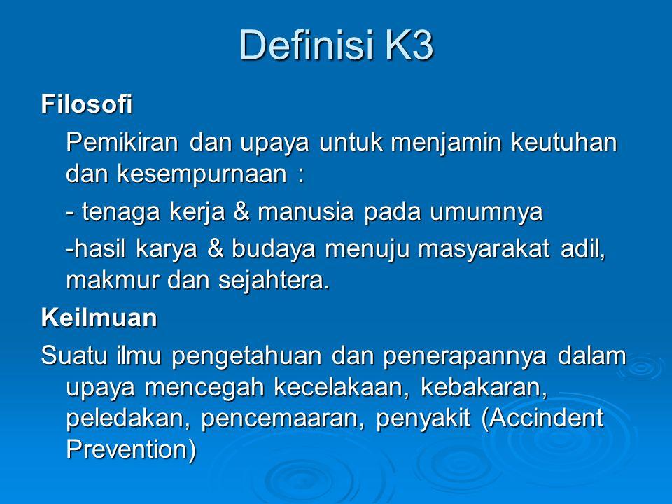 Definisi K3