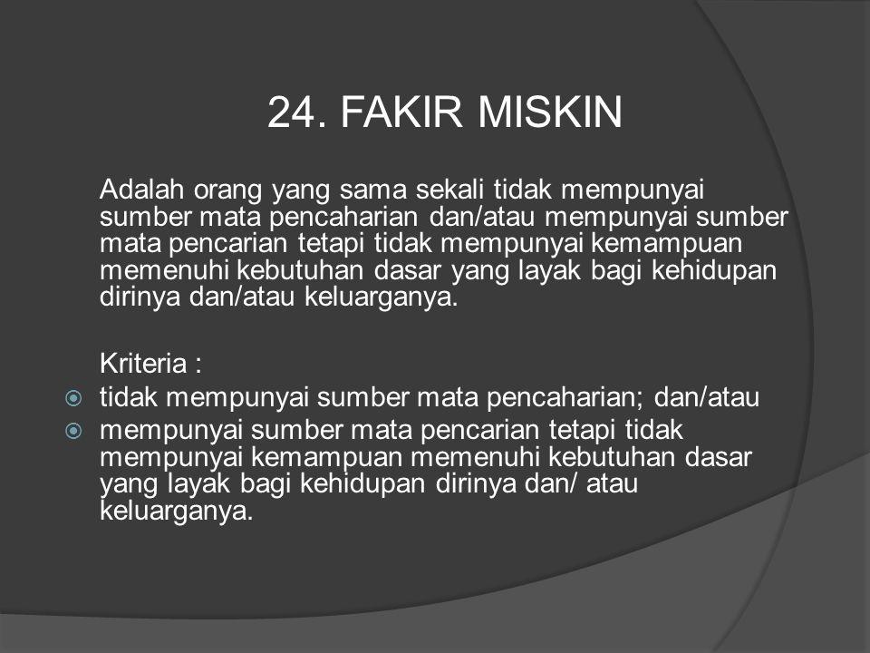24. FAKIR MISKIN