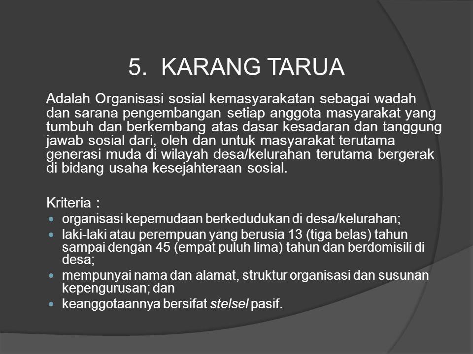 5. KARANG TARUA