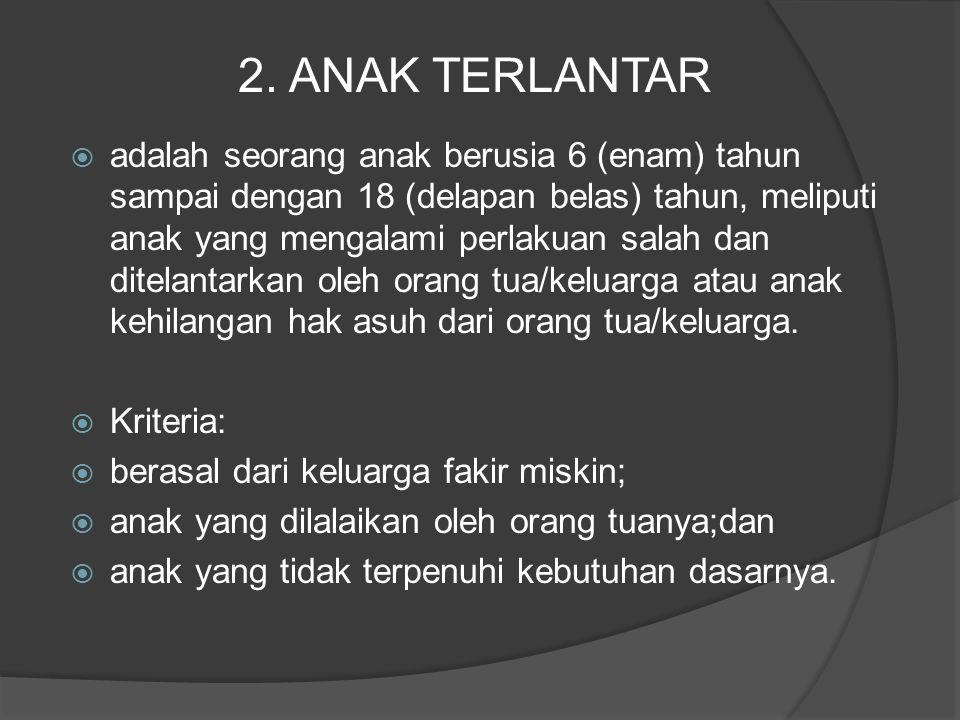 2. ANAK TERLANTAR