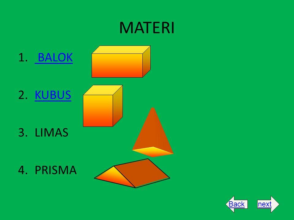 MATERI BALOK KUBUS LIMAS PRISMA Back next