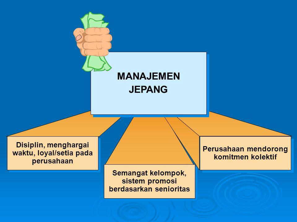 waktu, loyal/setia pada sistem promosi berdasarkan senioritas