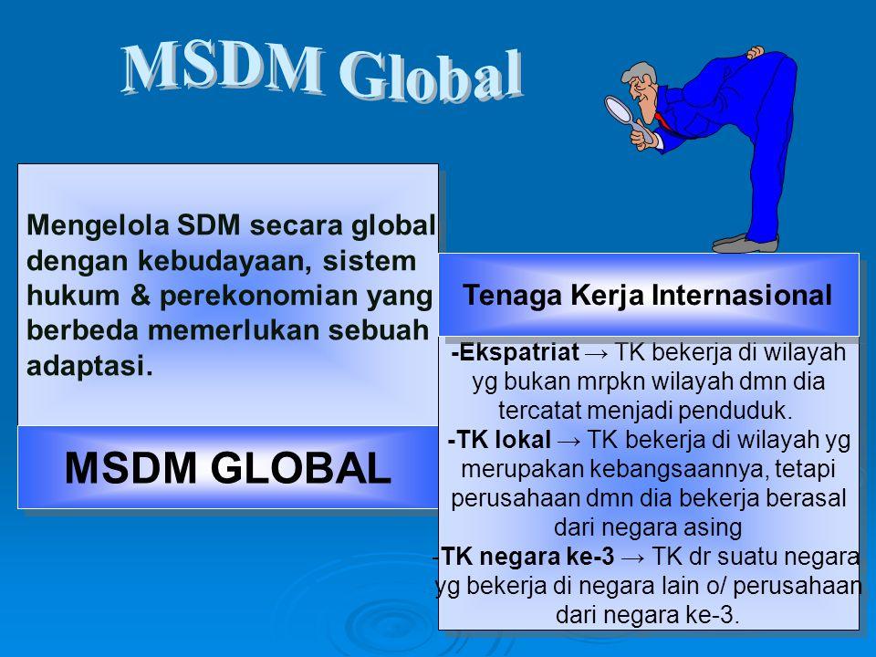 Tenaga Kerja Internasional
