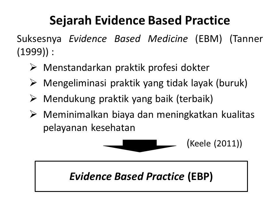 Sejarah Evidence Based Practice