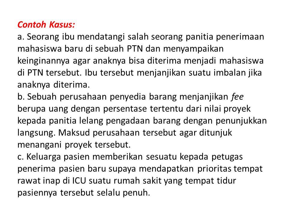 Contoh Kasus: a.