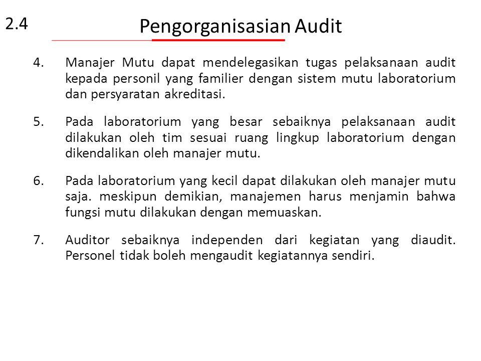Pengorganisasian Audit