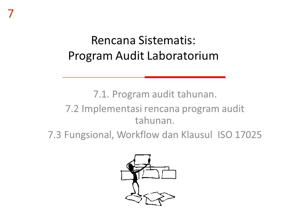 Rencana Sistematis: Program Audit Laboratorium