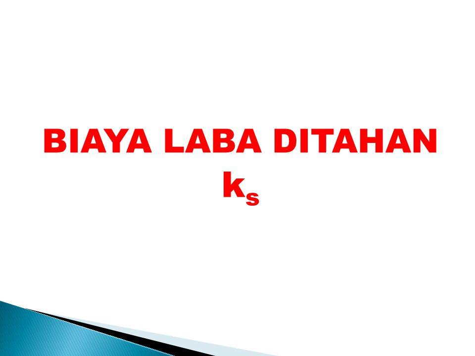 BIAYA LABA DITAHAN ks