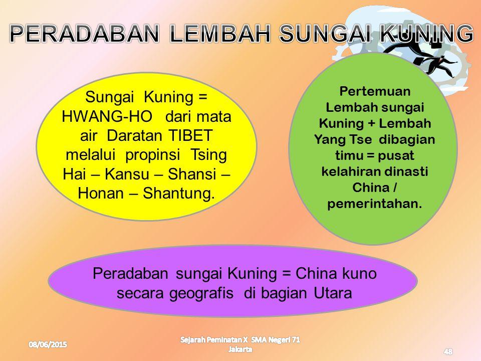 PERADABAN LEMBAH SUNGAI KUNING