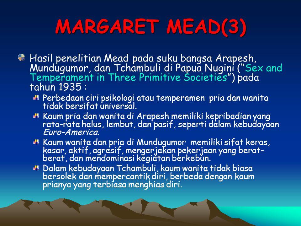 MARGARET MEAD(3)
