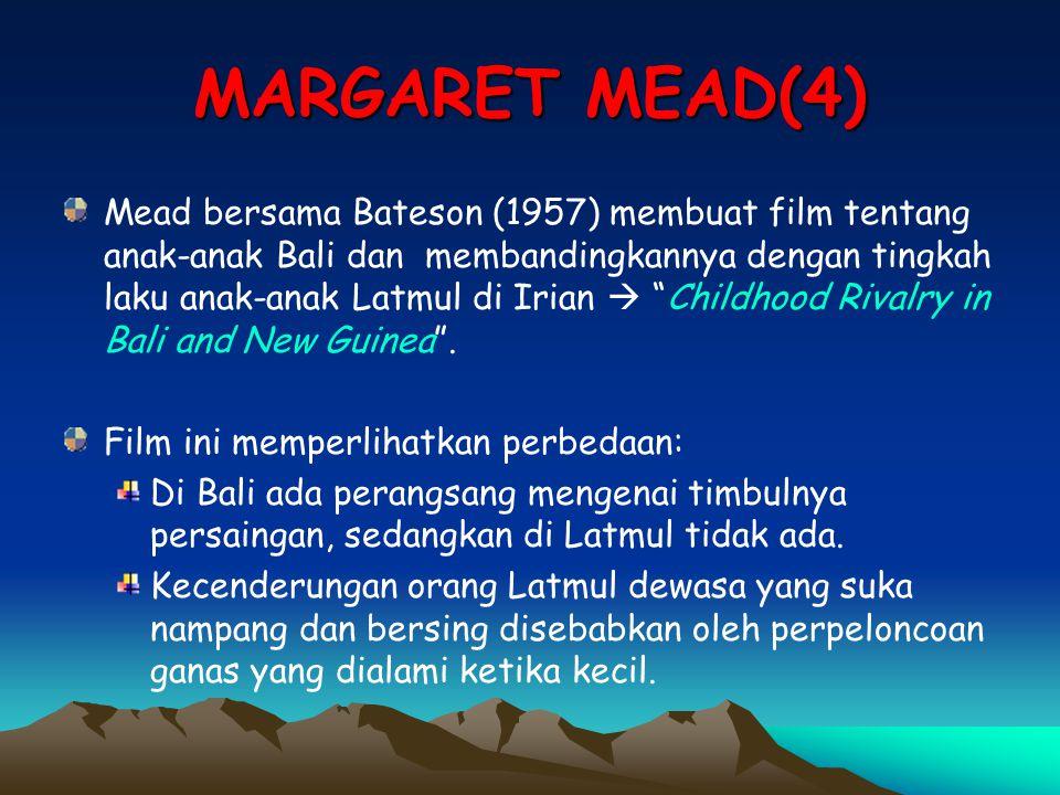MARGARET MEAD(4)