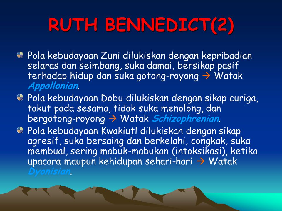 RUTH BENNEDICT(2)