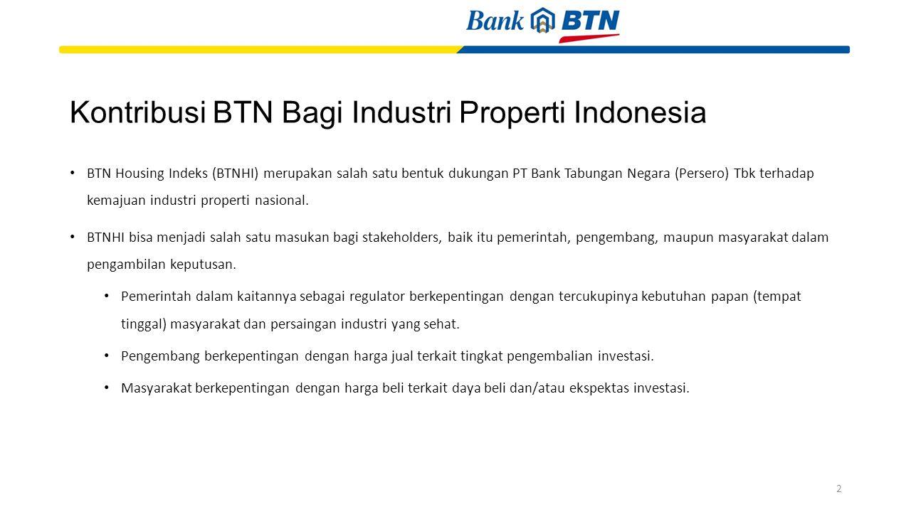 Kontribusi BTN Bagi Industri Properti Indonesia