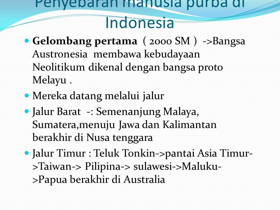 Penyebaran manusia purba di Indonesia