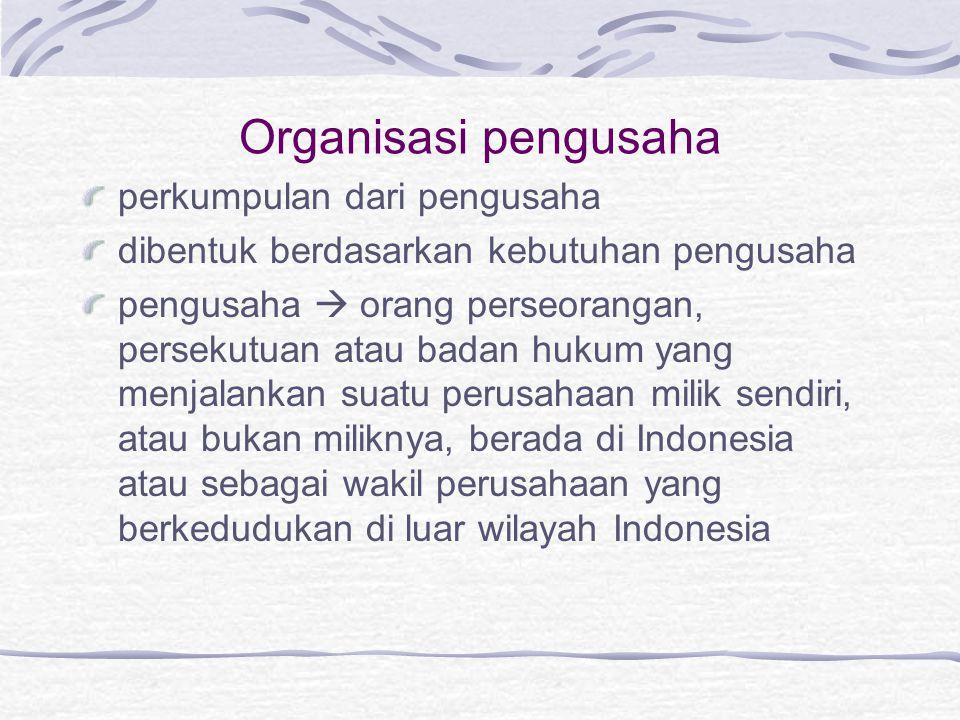 Organisasi pengusaha perkumpulan dari pengusaha