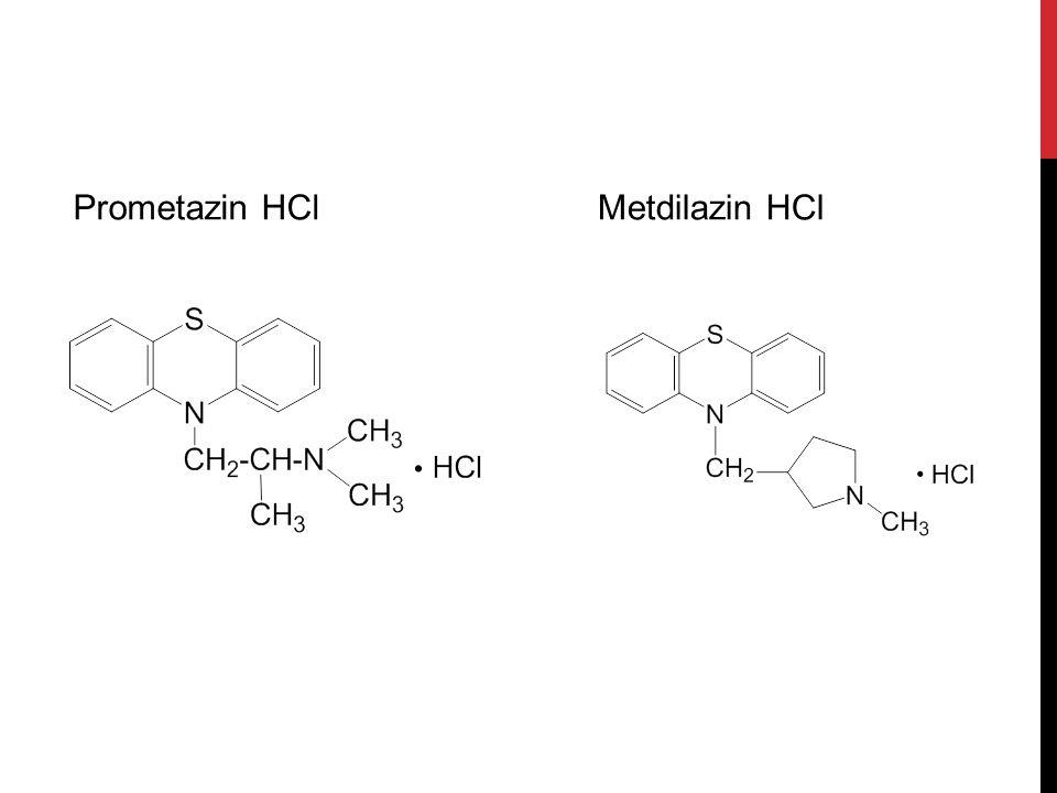 Prometazin HCl Metdilazin HCl