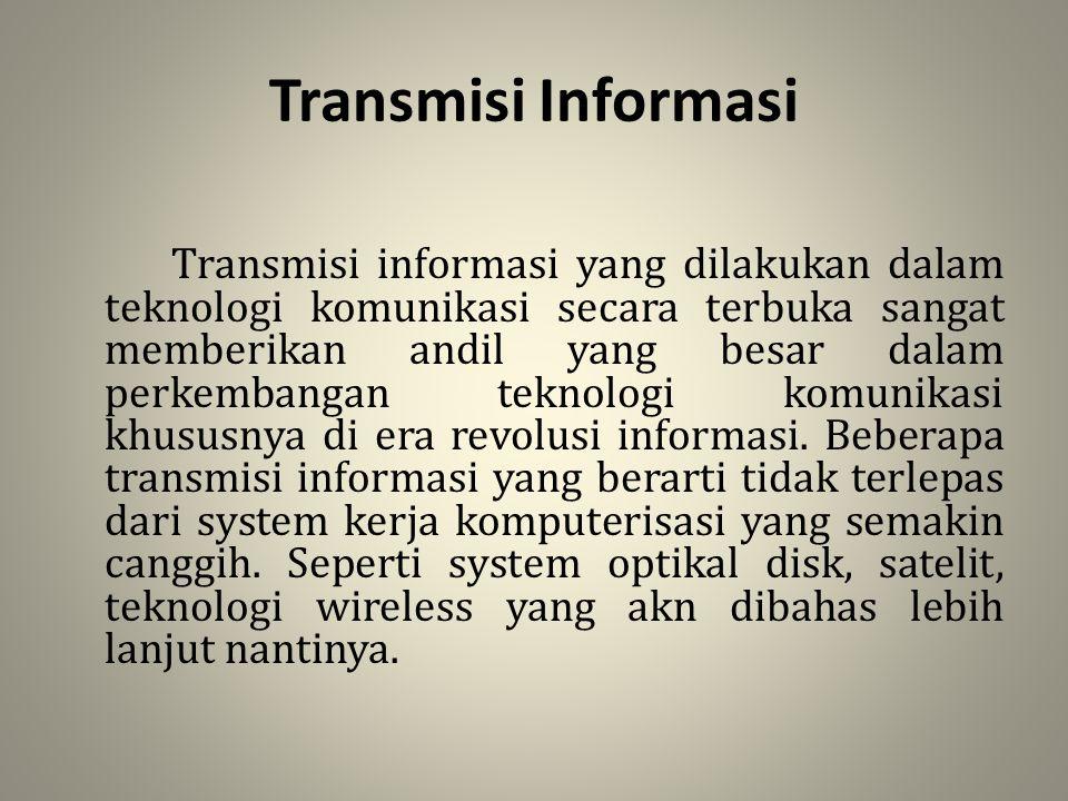 Transmisi Informasi