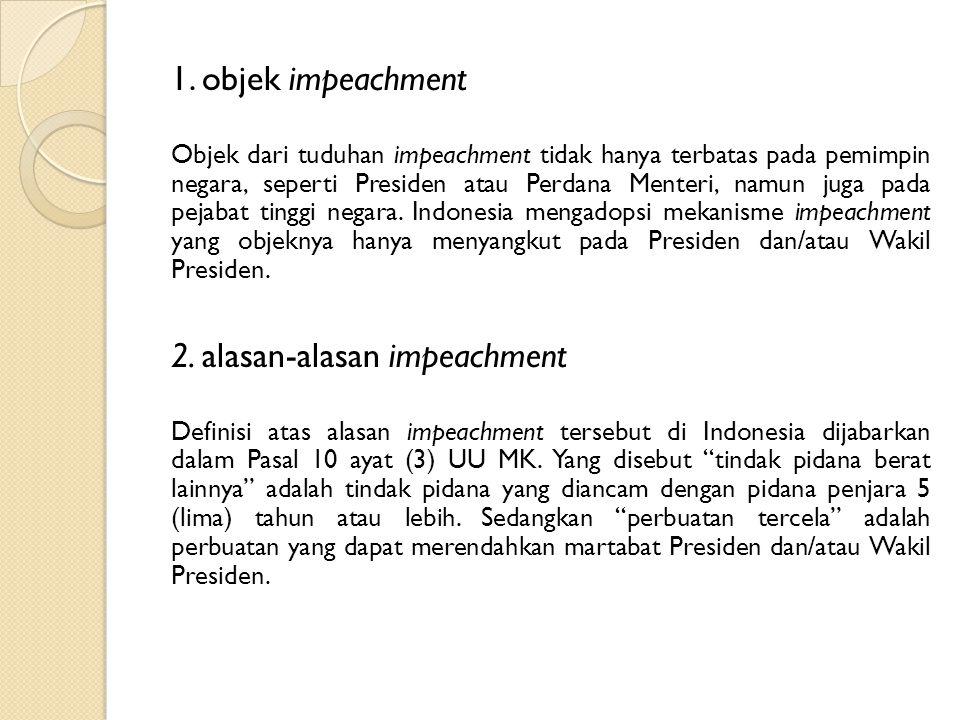 2. alasan-alasan impeachment