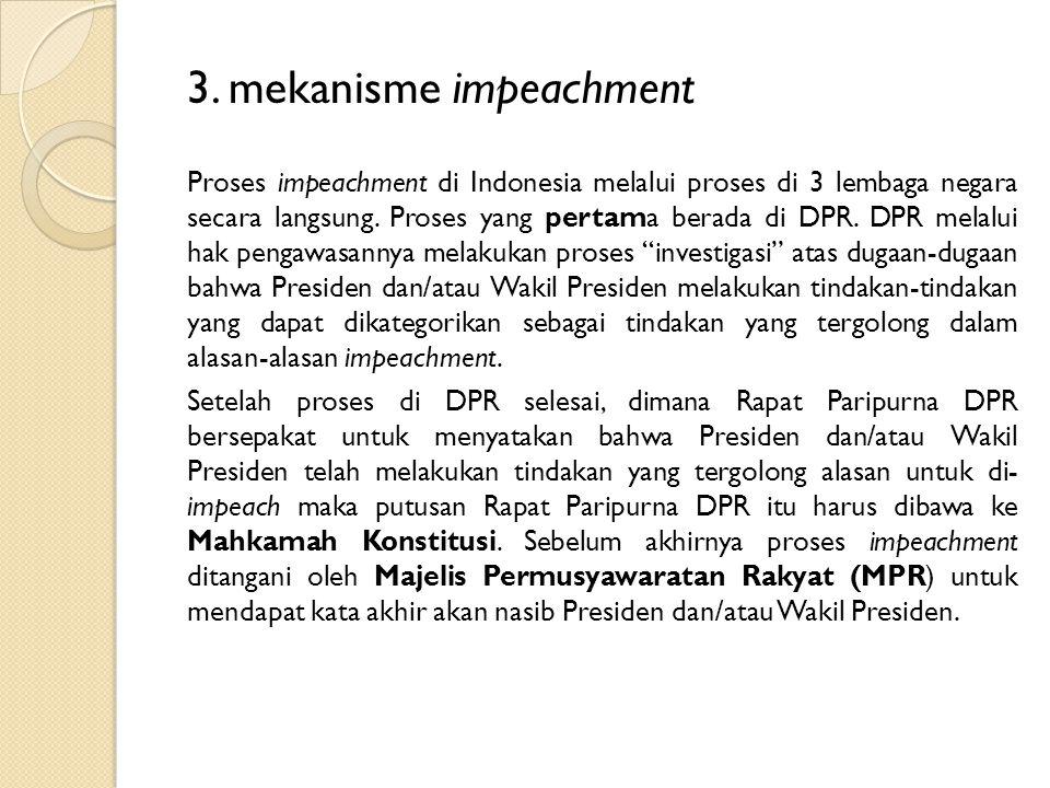 3. mekanisme impeachment