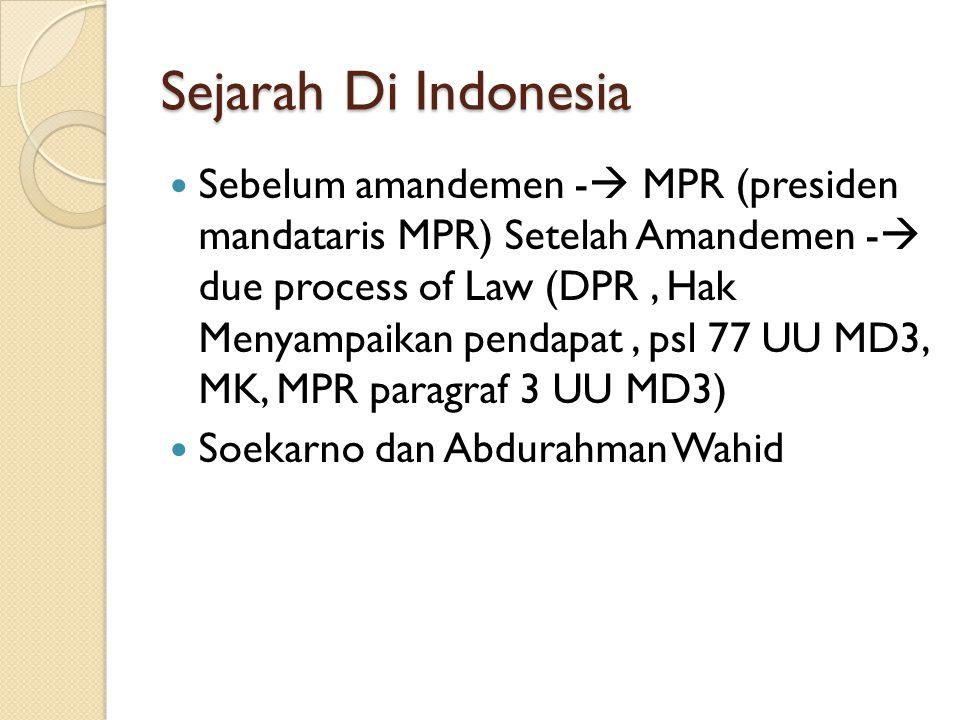 Sejarah Di Indonesia