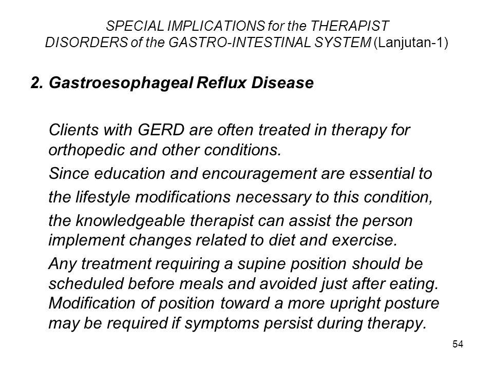 2. Gastroesophageal Reflux Disease