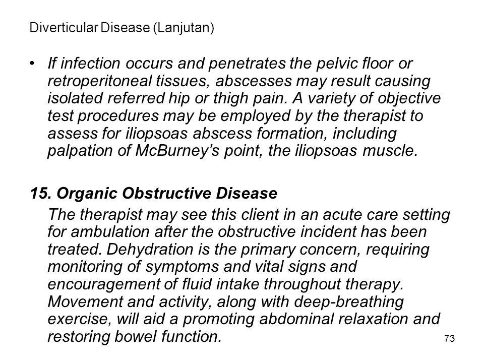 Diverticular Disease (Lanjutan)