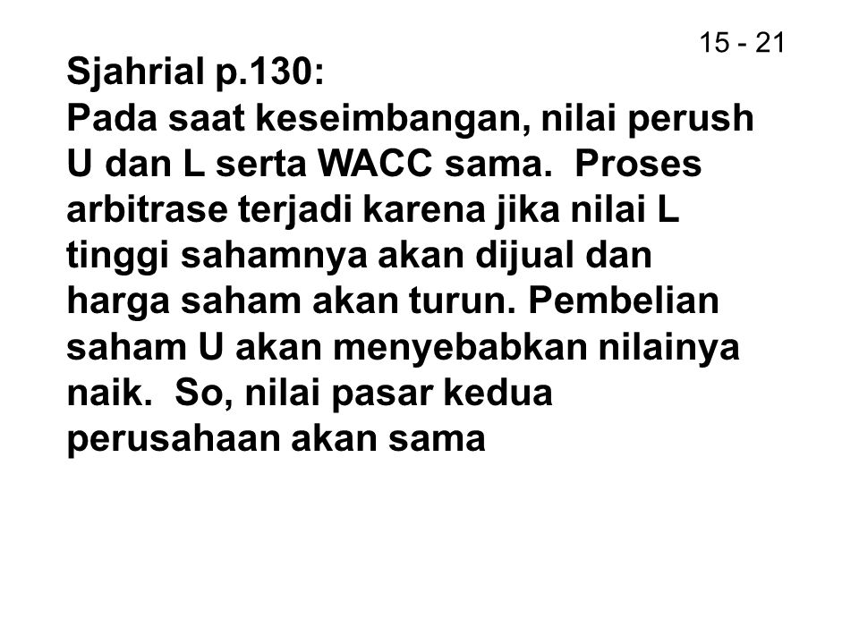 Sjahrial p.130: