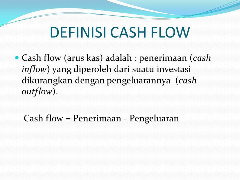DEFINISI CASH FLOW