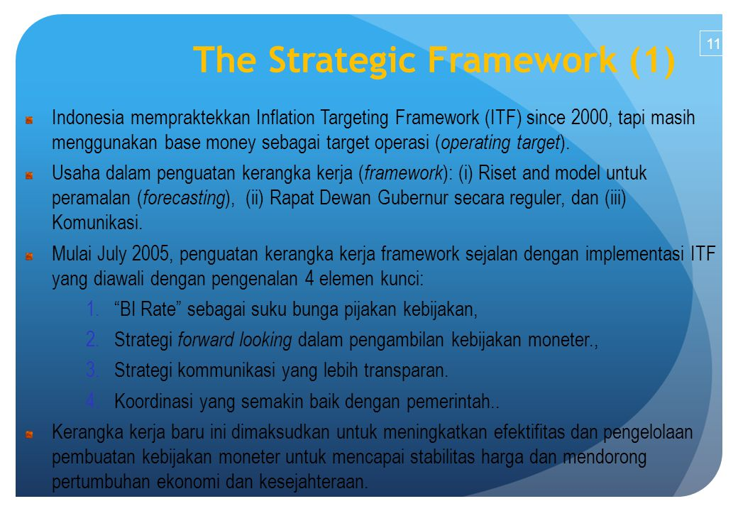 The Strategic Framework (1)