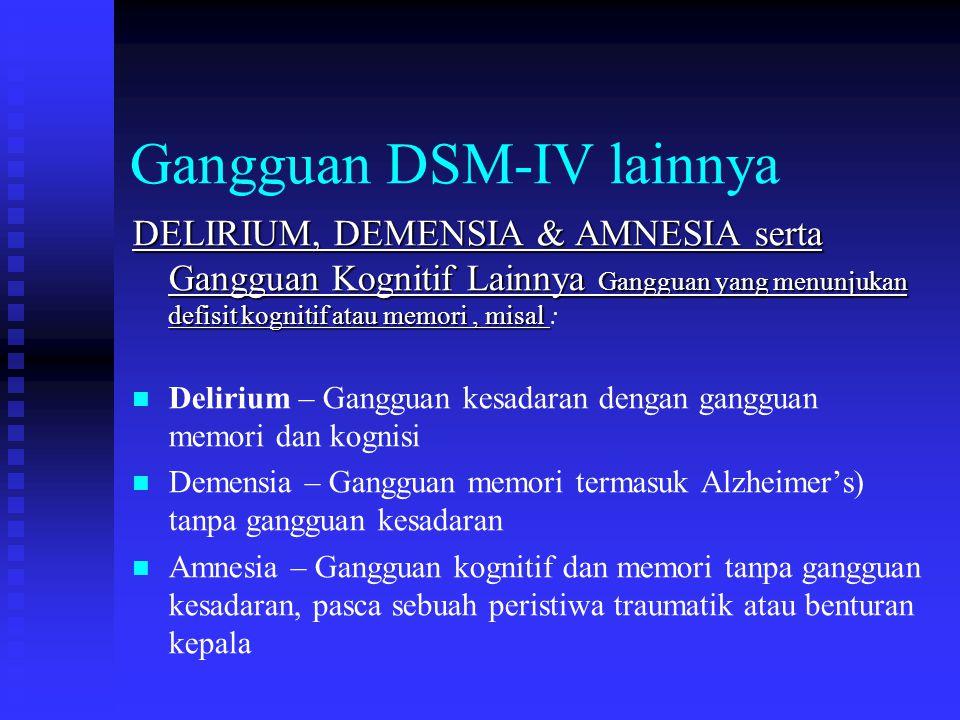 Gangguan DSM-IV lainnya