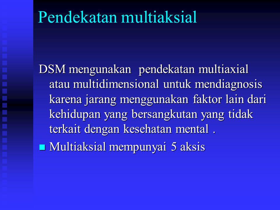Pendekatan multiaksial