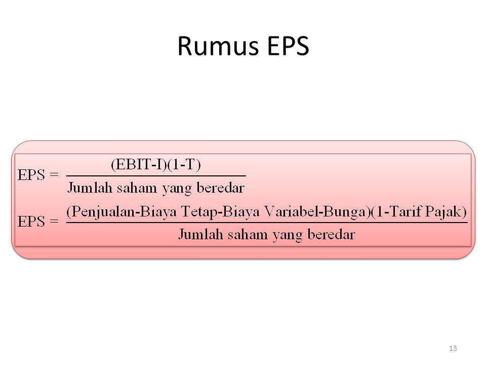 Rumus EPS