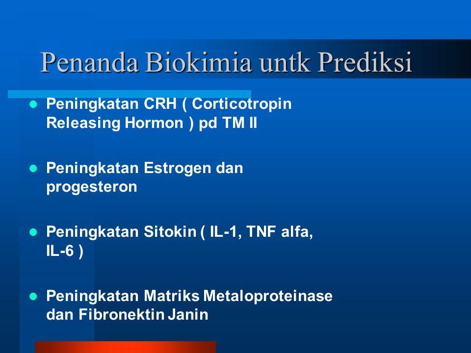 Penanda Biokimia untk Prediksi