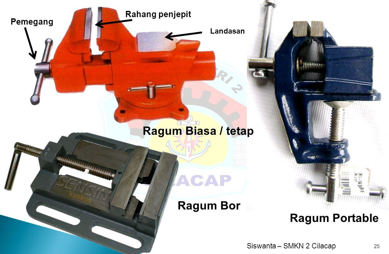 Ragum Biasa / tetap Ragum Bor Ragum Portable Rahang penjepit Pemegang