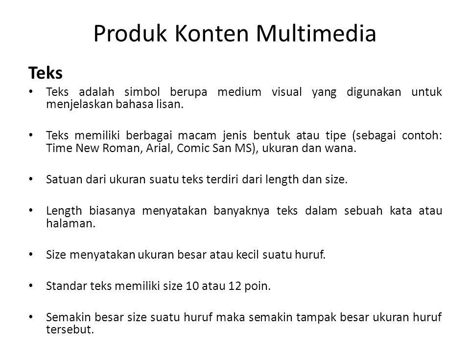 Produk Konten Multimedia