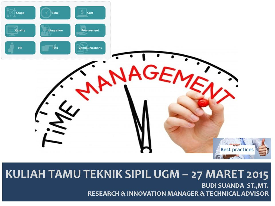 KULIAH TAMU TEKNIK SIPIL UGM – 27 MARET 2015