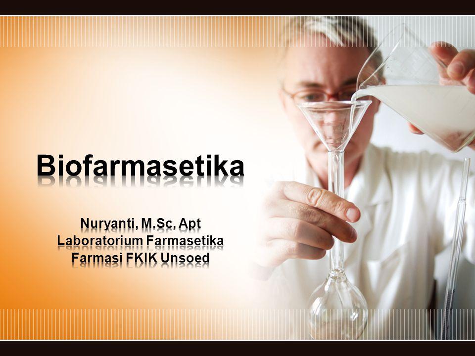 Nuryanti, M.Sc, Apt Laboratorium Farmasetika Farmasi FKIK Unsoed