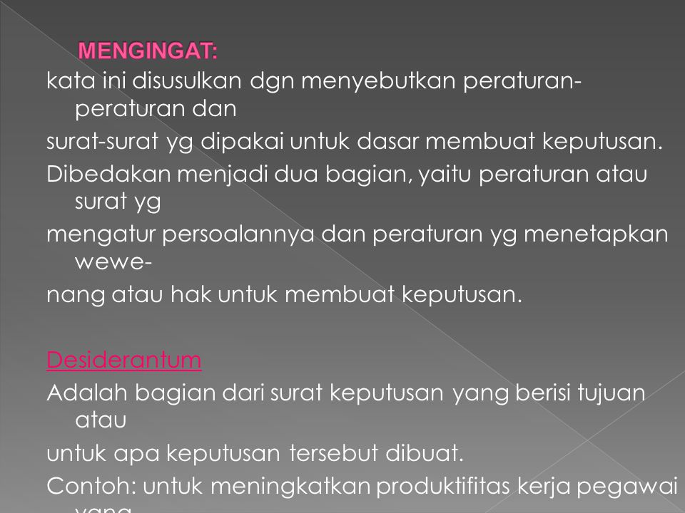 MENGINGAT: