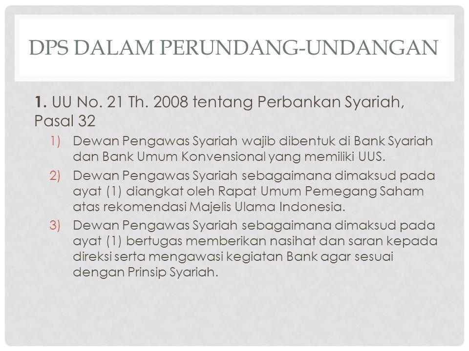 Dps dalam perundang-undangan