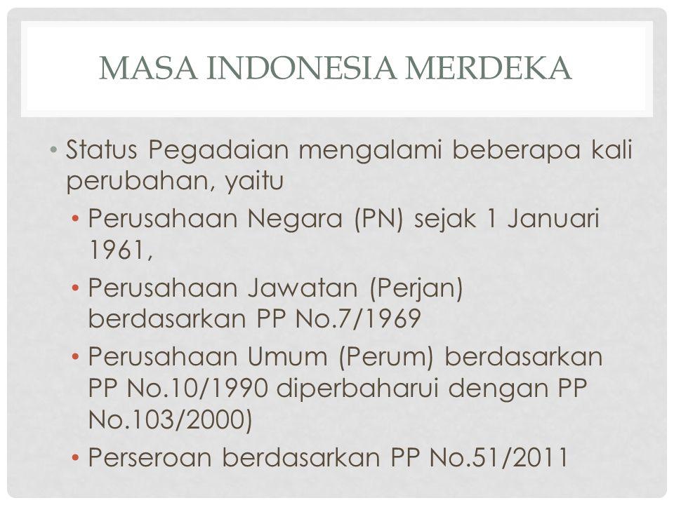 Masa indonesia merdeka