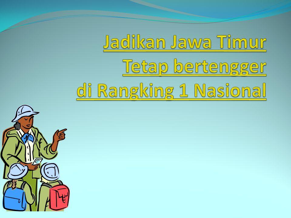 Jadikan Jawa Timur Tetap bertengger di Rangking 1 Nasional