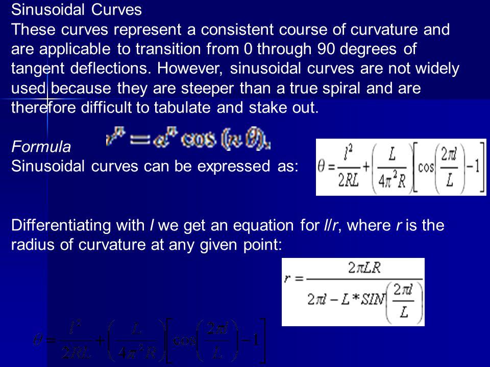 Sinusoidal Curves