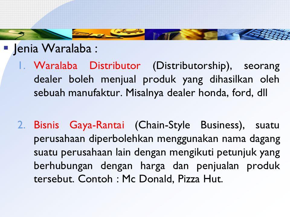 Jenia Waralaba :