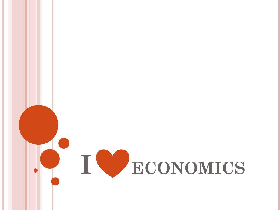 I ECONOMICS