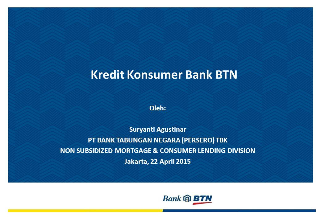 Kredit Konsumer Bank BTN