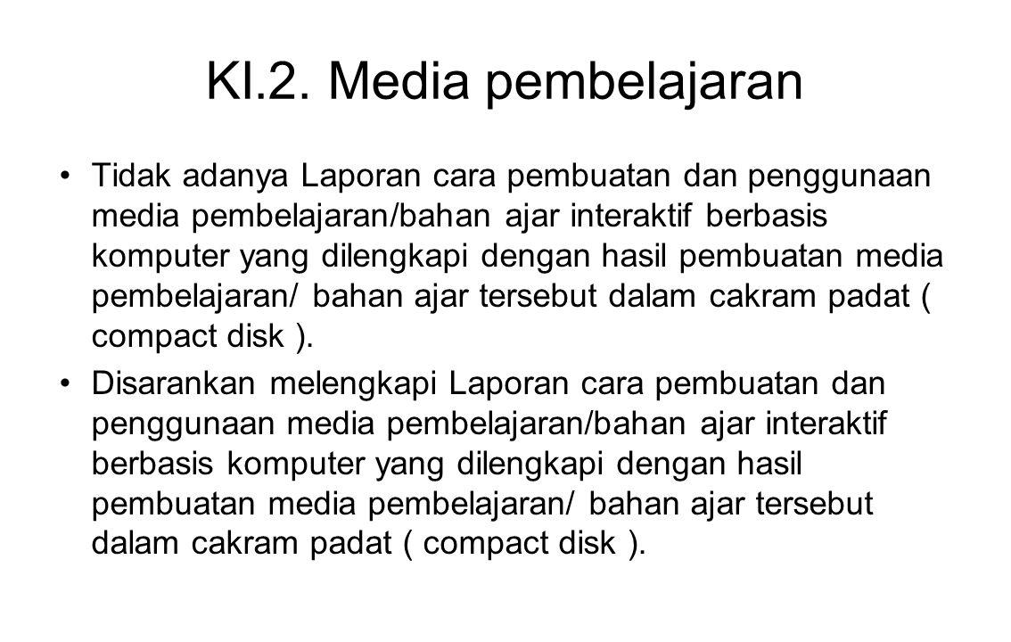 KI.2. Media pembelajaran
