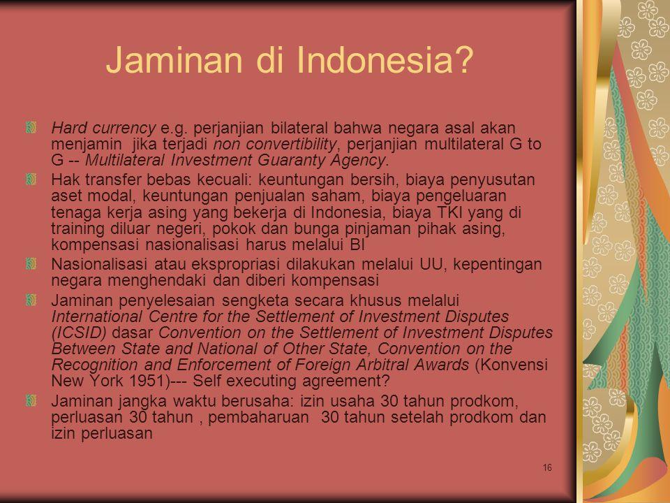 Jaminan di Indonesia