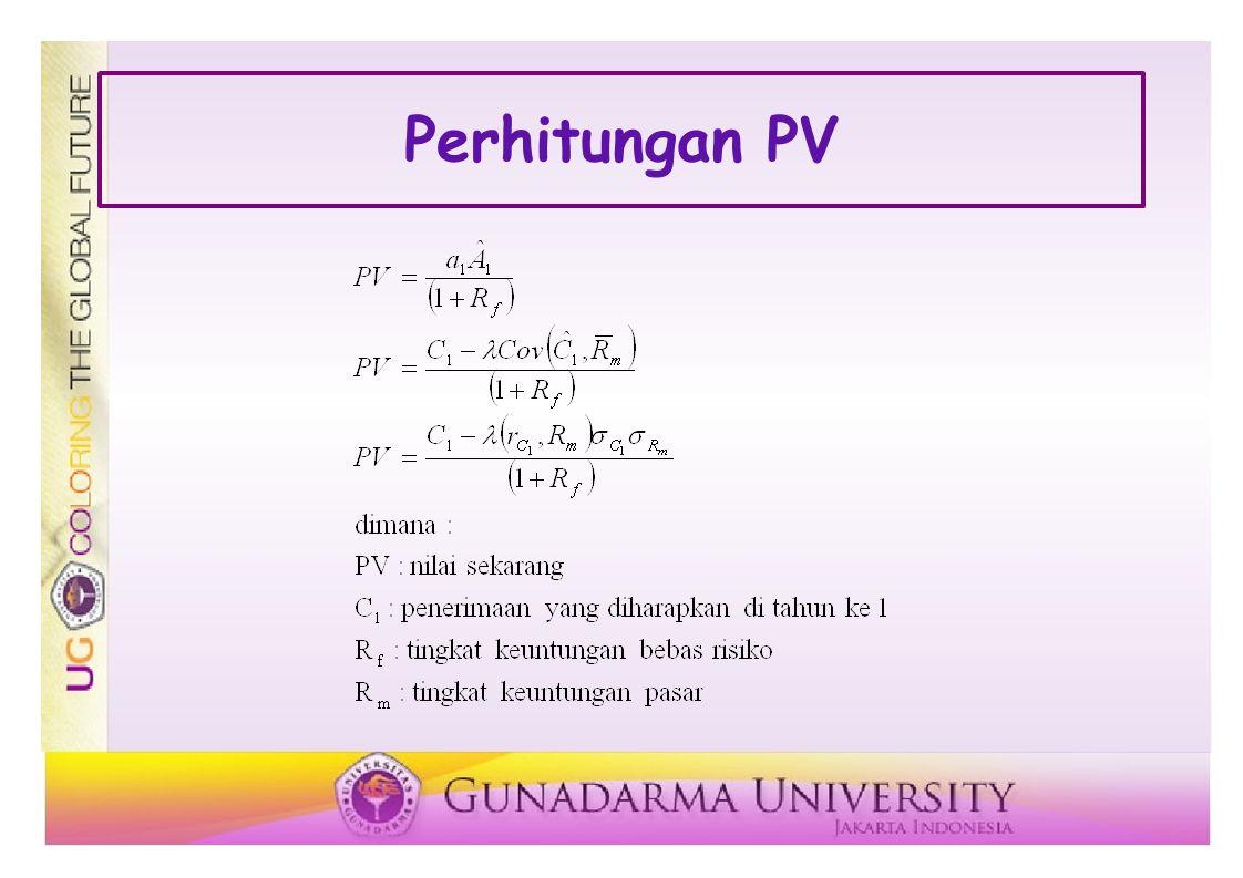 Perhitungan PV
